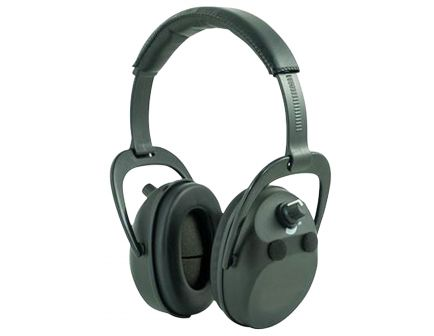 Axil Sportear 25 dB Over the Head Electronic Earmuff, Black - XT4