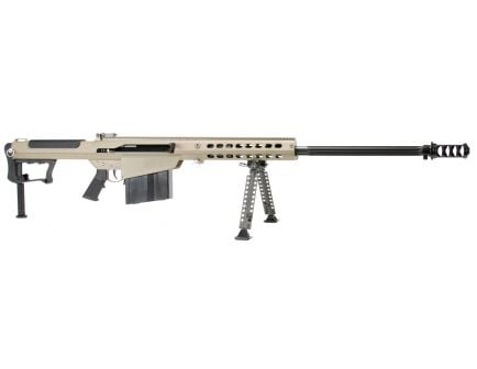 Barrett Firearms M107 A1 .50 BMG Semi-Automatic Rifle, FDE - 14559
