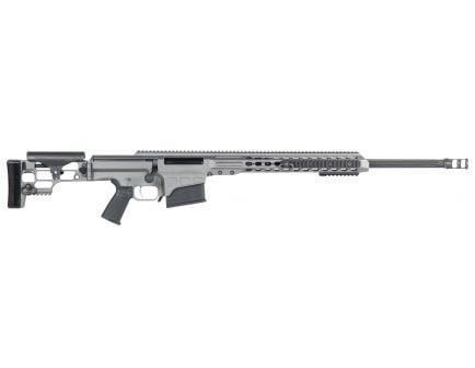 Barrett Firearms MRAD .338 Lapua Mag Bolt Action Rifle, Tungsten Gray Cerakote - 14388