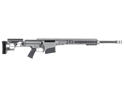 Barrett Firearms MRAD 6.5 Crd Bolt Action Rifle, Tungsten Gray Cerakote - 14449