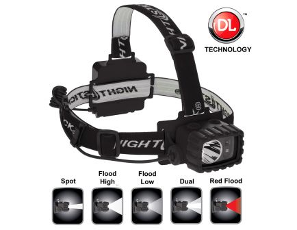 Nightstick 175 Lumen Cree LED Headlamp, Black - NSP-4612B