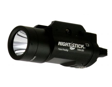 Nightstick 350 Lumen Cree LED Weapon Light for Long Gun, Black - TWM-352