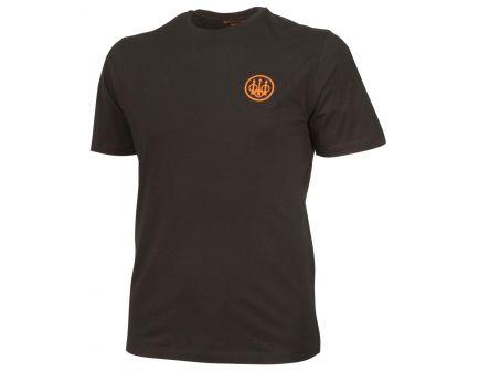 Beretta Medium Cotton Short Sleeve T-Shirt, Beretta Logo, Black - TS621T14160999M
