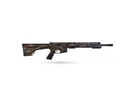 "Brenton Usa Ranger Carbon Hunter 18"" 6.5mm Grendel Semi-Automatic AR-15 Rifle, MarbleKote Harvest Camo - RR18HM6.5"