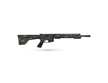 "Brenton Usa Ranger Carbon Hunter 18"" 6.5mm Grendel Semi-Automatic AR-15 Rifle, MarbleKote Foliage Camo - RR18FM6.5"