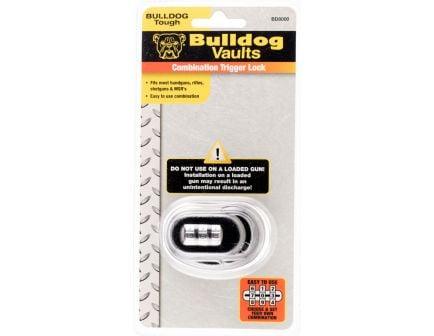 Bulldog Cases Trigger Lock w/ Combination for Handguns/Rifles/Shotguns/MSR's, Black - BD8000