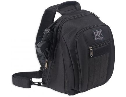 Bulldog Cases BDT Tactical Concealed Carry Sling Pack, Small, Black - BDT408B