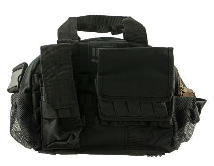 Bulldog Cases BDT Tactical Range Bag w/ Molle Mag Pouches, Black - BDT940B