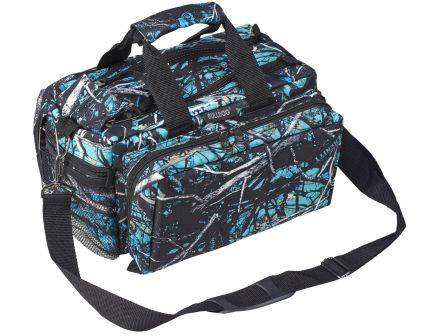 Bulldog Cases Deluxe Tactical Range Bag w/ Strap, Muddy Girl Serenity Camo - BD910SRN