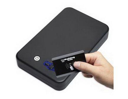 Bulldog Cases Digital Personal Vault w/ LED and RFID Access, Black - BD1135