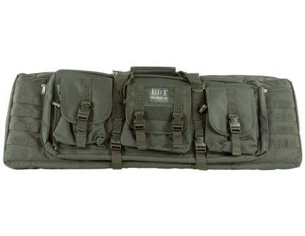 """Bulldog Cases BDT Tactical Double Rifle Bag, 37"""", Black - BDT60-37B"""