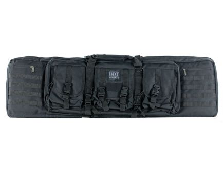 """Bulldog Cases BDT Tactical Double Rifle Bag, 43"""", Black - BDT60-43B"""