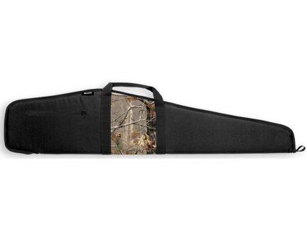 "Bulldog Cases Camo Panel Scoped Rifle Case, 44"", Smooth Black w/ Black Trim - BD21044"