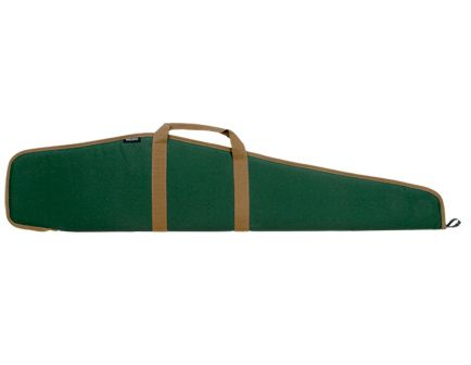 """Bulldog Cases Pit Bull Weather-Resistant Scoped Rifle Case, 48"""", Smooth Green w/ Tan Trim - BD101"""