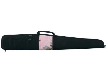 "Bulldog Cases Camo Panel Scoped Shotgun Case, 52"", Smooth Black w/ Black Trim - BD215"