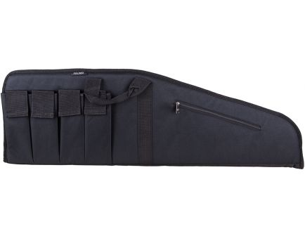 "Bulldog Cases Extreme Floating Tactical Rifle Case, 45"", Textured Black w/ Black Trim - BD420"