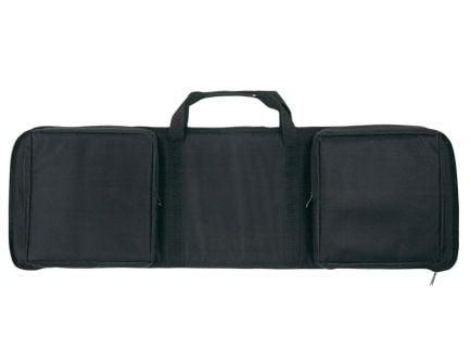 "Bulldog Cases Extreme Tactical MSR Rectangle Discreet Rifle Case, 35"", Black w/ Black Trim - BD470-35"