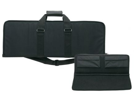 "Bulldog Cases Hybrid Tactical Shotgun Case, 40"", Black w/ Black Trim - BDH495"