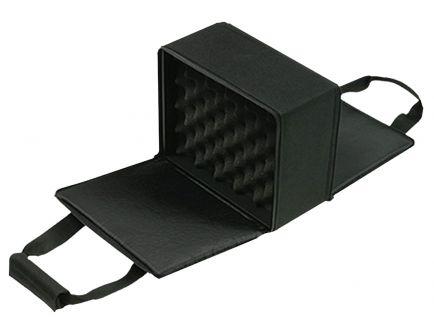 Bulldog Cases Hard Case Series Hard-Sided 4 Pistol Case, Black - BD522