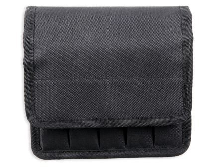 Bulldog Cases BDT Deluxe Magazine Pouch, 5 to 10 Magazines, Smooth Black - BDT-60