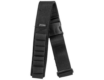 Bulldog Cases 20 Shell Adjustable Ammo Belt, Black - WABS