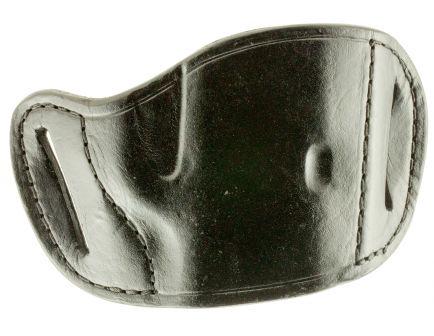 Bulldog Cases Medium Right Hand 1911/Browning HP Holster, Black - MLB-M