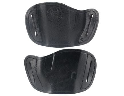 Bulldog Cases Large Right Hand Glock/Ruger P85 Holster, Black - MLB-L