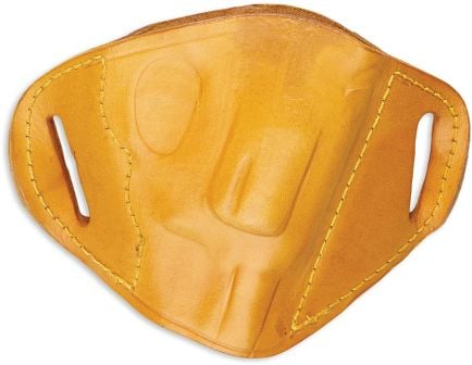 Bulldog Cases Large Right Hand Glock/Ruger P85 Holster, Tan - MLT-L