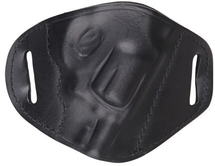 """Bulldog Cases Small Right Hand 2"""" to 4"""" Small Frame S&W J/85 Holster, Black - MLB-RS"""