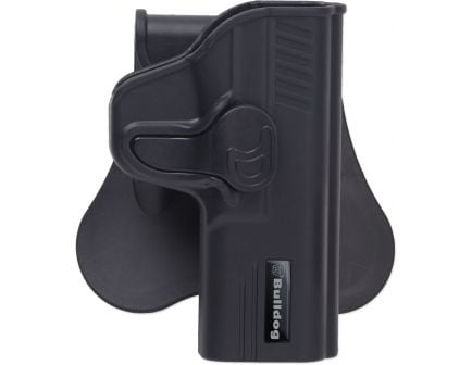 Bulldog Cases Right Hand Beretta and Taurus 92 Rapid Release Hip Holster, Black - RR-92F