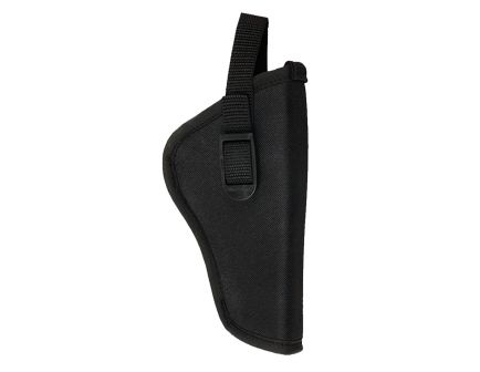 """Bulldog Cases Pit Bull Size 12 Right Hand 3"""" to 4"""" S&W - J/K/L/N Outside-The-Waistband Hip Holster, Textured Black - DLX-12"""