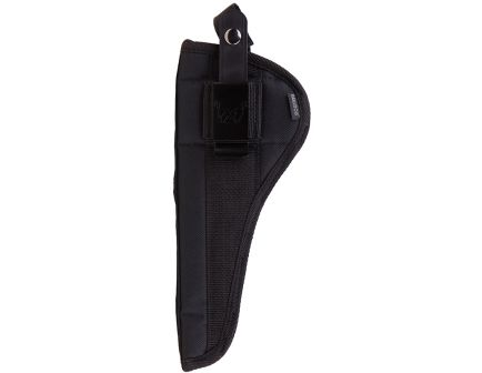 """Bulldog Cases Extreme Size 21 Ambidextrous Hand 5"""" to 6.875"""" Ruger Mark Style Outside-The-Waistband Holster w/ Clam Shell Packaging, Textured Black - FSN-21"""