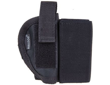 Bulldog Cases Size 1R Right Hand Ruger LCP Mini Semi-Autos Ankle Holster, Textured Black - WANK 1R