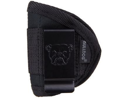 Bulldog Cases Small Ambidextrous Hand .22 to .25 Small Autos Inside-The-Pant Holster, Textured Black - WIP-S
