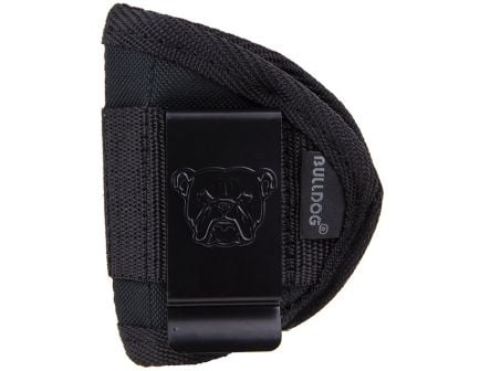 Bulldog Cases Medium Ambidextrous Hand 380 Autos Inside-The-Pant Holster, Textured Black - WIP-M