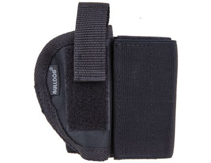 "Bulldog Cases Size 2R Right Hand 2"" to 2.5"" J Frame/85 Ankle Holster, Textured Black - WANK 2R"