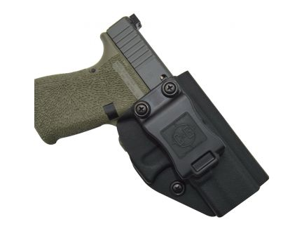 C&G Holsters Right Hand Glock G19/G23 Inside the Waistband Holster, Black - 040100