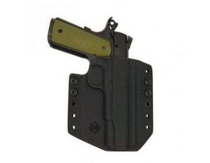 C&G Holsters Right Hand SIG 1911 Outside the Waistband Holster, Black - 074100