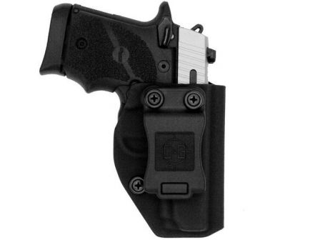 C&G Holsters Right Hand SIG P938 Inside the Waistband Holster, Black - 082100