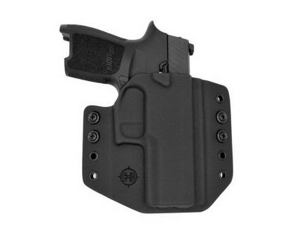 C&G Holsters Right Hand SIG P365 Outside the Waistband Holster, Black - 300100