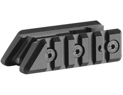 "CAA 2.83"" Polymer 1-Piece Base Front Sight Dual Picatinny Rail, Black - FSM15P"