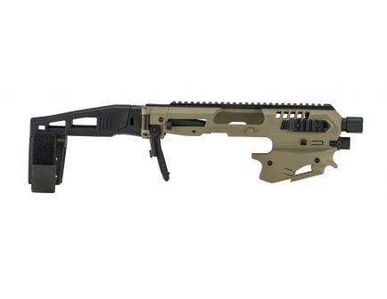 CAA MCK Standard Micro Conversion Kit for Glock 17, 19, 19X Gen 3-5 Pistols, Flat Dark Earth - MCKT