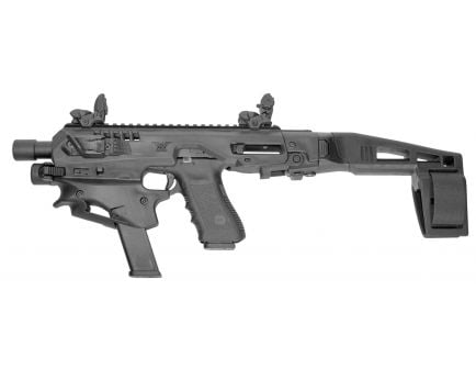 CAA MCK Advanced Micro Conversion Kit for Glock 17, 19, 19X Gen 3-5 Pistols, Black - MCKA