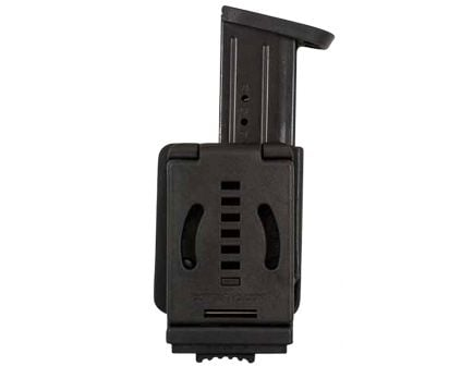 Comp-Tac Victory Gear PLM Left Side Carry Outside the Waistband Single Magazine Pouch for Beretta 92, 96 9mm/.40 S&W Handgun, Black - 10621-C62111000LBKN