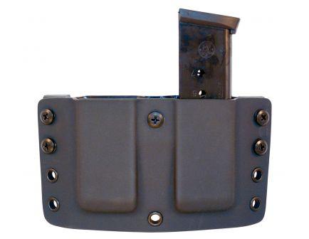 Comp-Tac Victory Gear Twin Warrior Inside/Outside the Waistband Dual Magazine Pouch for 1911, Kahr, Spring XD-S, Sig P220 9mm/.45 ACP Handgun, Black - 10709-C70901000NBKN