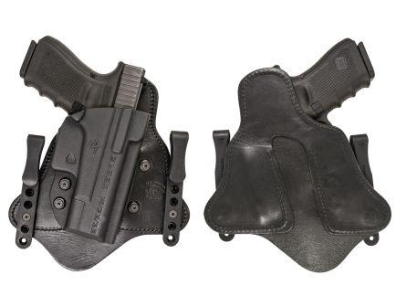 Comp-Tac Victory Gear MTAC Right Hand Glock 17/22/31 Gen 1-4 Premier Inside the Waistband Hybrid Holster, Black - 10225-C225GL043RBSN