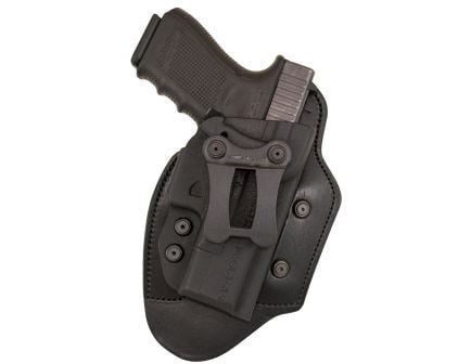 Comp-Tac Victory Gear Infidel Ultra Max Right Hand Glock 19/23/32 Gen 1-4 Inside the Waistband Holster, Black - 10538-C538GL051R50N