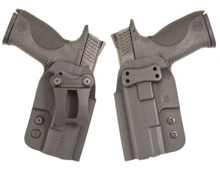 Comp-Tac Victory Gear QI Ambidextrous Hand Glock 43/Spring XDS Inside-The-Waistband Modular Holster, Black - 10572-C57200000NQ3N
