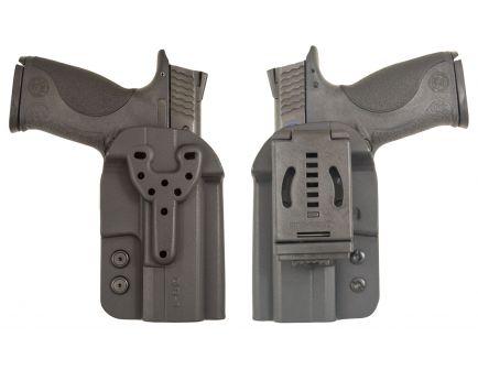 Comp-Tac Victory Gear QB Q Line Right Hand Springfield XD-S/M&P Shield Outside-The-Waistband Modular Holster, Black - 10573-C57300000NQ3N