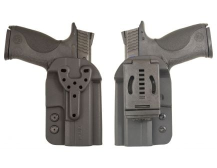 Comp-Tac Victory Gear QB Q Line Right Hand 1911/Colt/Remington/Kimber Outside-The-Waistband Modular Holster, Black - 10573-C573QB004N00N